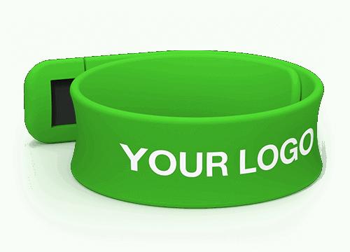 Slap - Branded USB Bracelets