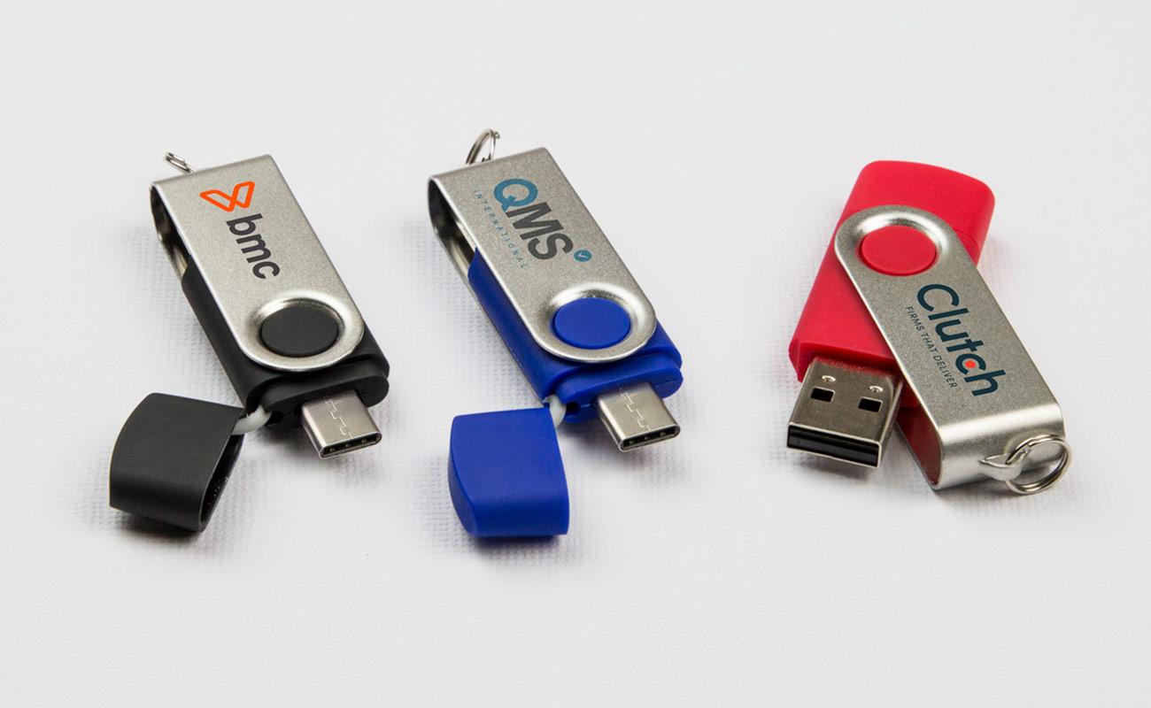 Twister Go - Promotional USB Sticks
