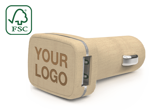 Woodie - Branded Car Charger