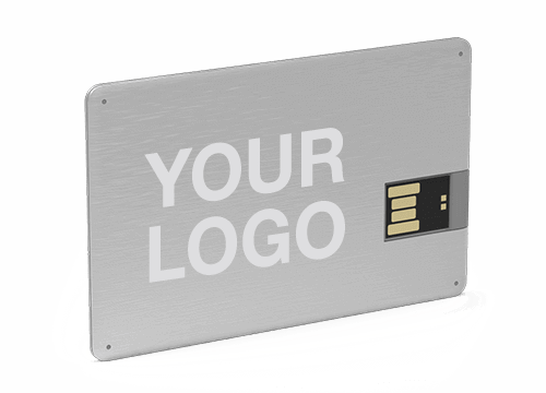 Alloy - Credit Card USB Stick