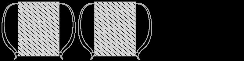 Drawstring bag Photo Printing