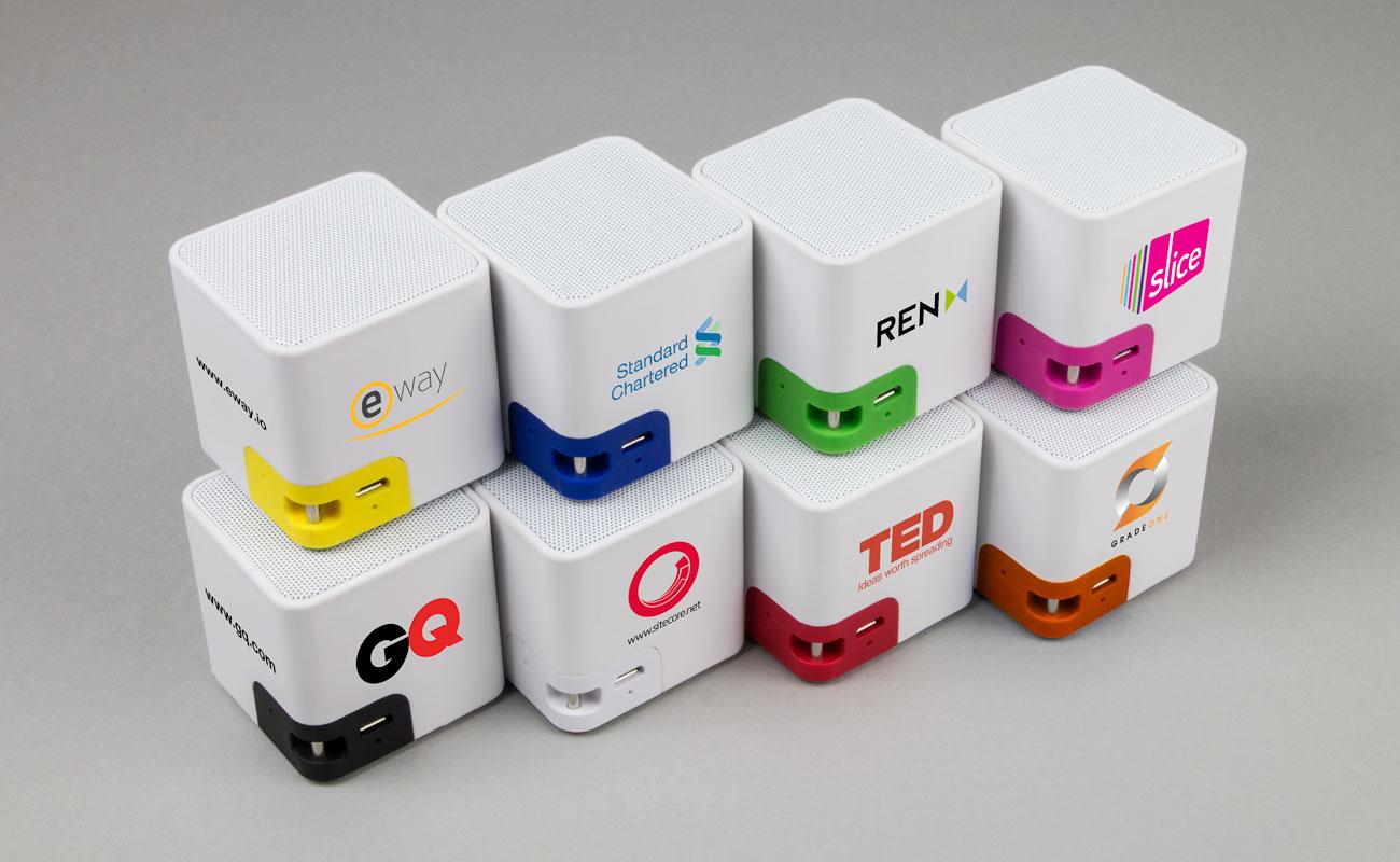 Cube - Printed Portable Speakers